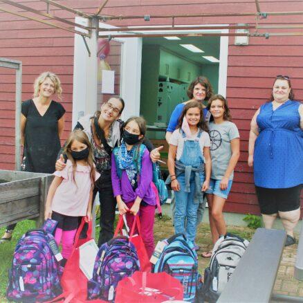 Distribution sacs d'école 2020